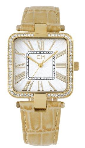 Carlo Monti - CM505-215 - Montre Femme - Quartz Analogique - Bracelet Cuir Beige
