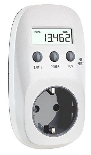 TFA Dostmann Energiekosten-Messgerät, Berechnung der Energiekosten, Kostenvorhersage, Anzeige des Verbrauchs -