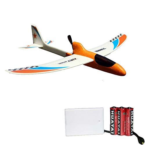 Kikioo Größtes PAK-Handstart-Segelflugzeug-Flugzeug, fliegendes Segelflugzeug-Flugzeug-Werfen-Schaum-Flugzeug-Trägheits-langlebiges Gutflugzeug-Modell für Kinderjungen-Mädchen-Inneneinrichtungs-Sammlu