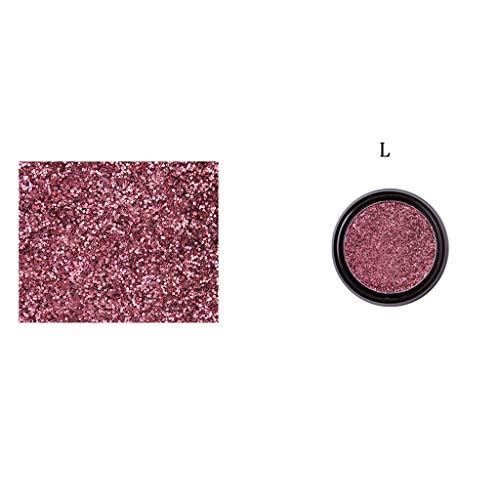 Ostern beste Geschenke !!! Beisoug 1pcs Glitter Shine Lidschatten Makeup Palette Lidschatten Kosmetik Make-up