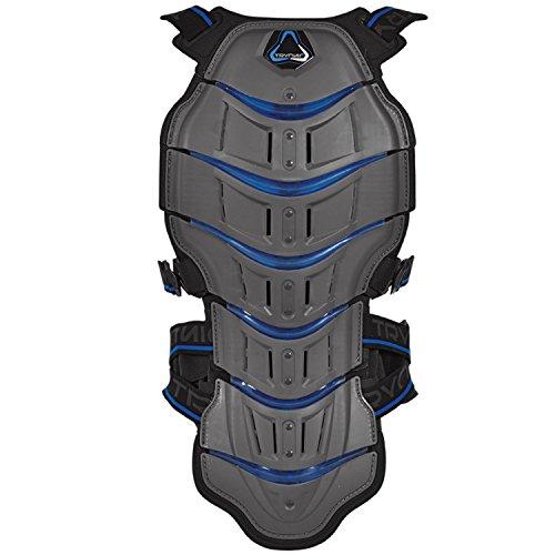 Revit! Tryonic Rückenprotektor Feel 3.7, Farbe grau blau, Größe S