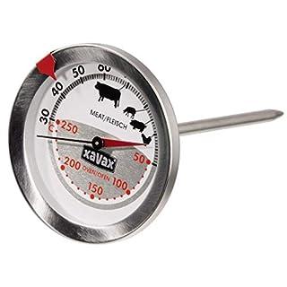Xavax 2-in-1 Bratenthermometer (aus Edelstahl, gleichzeitige Messung von Gar- und Ofentemperatur, spülmaschinengeeignet) silber (B002IK75DA) | Amazon price tracker / tracking, Amazon price history charts, Amazon price watches, Amazon price drop alerts