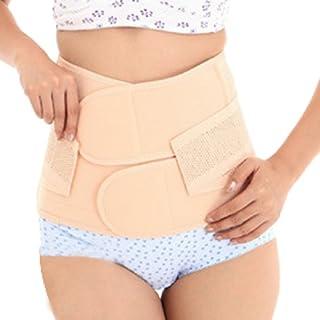 AUBIG atmungsaktiv elastisch Bauchweg Gürtel Bauchband Gurt Nach Geburt Pelvis Correction Re-Shaping Slimming Belt abnehmen Gürtel Schlankheits-Gürtel