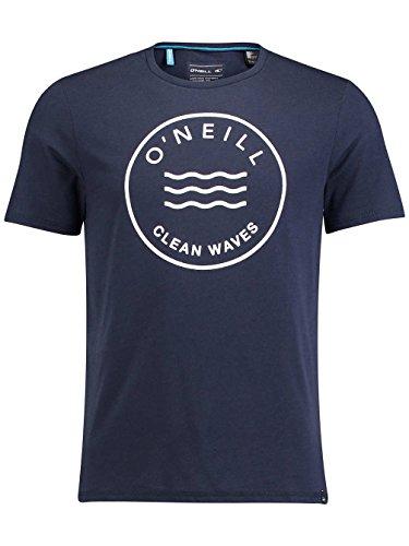 Herren T-Shirt O'Neill Ocean Hyperdry T-Shirt Ink Blue