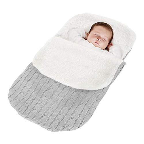 Minetom Saco Dormir Punto Felpa Bebé Recién Nacido