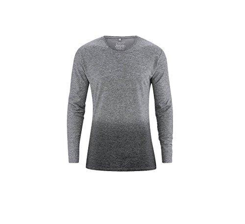 HEMPAGE Herren T-Shirt Schwarz