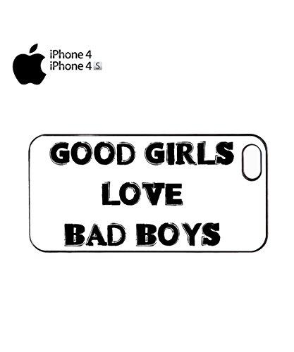 Good Girls Love Bad Boys Mobile Cell Phone Case Cover iPhone 6 Black Noir