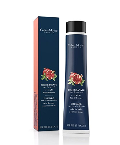 Crabtree & Evelyn Pomegranate, Argan & Grapeseed Overnight Hand Therapy 75g -