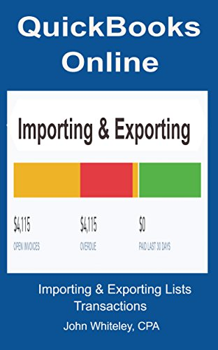 quickbooks-online-importing-and-exporting-english-edition
