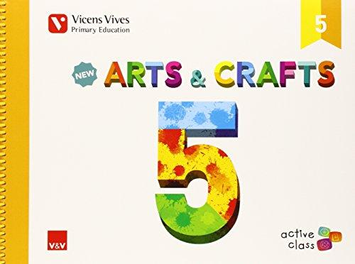 New Arts And Crafts 5 (active Class) - 9788468228181 por Isabel Ceballos Guerrero