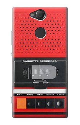 Innovedesire Red Cassette Recorder Graphic Hülle Schutzhülle Taschen für Sony Xperia XA2