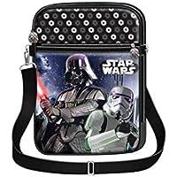 Star Wars - Borsa a tracolla con il disegno di Darth Vader, 37 x 29 x 10 cm (Karactermania)
