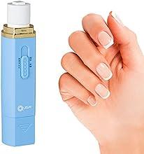 lima de uñas eléctrica, lima uñas, cuidado de manos y cuidado de uñas, brillo de uñas, lima uñas set, cuidado para uñas, bolsa de transporte de REGALO