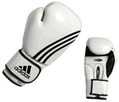 adidas Boxhandschuhe Box Fit weiss/schwarz, 8 OZ