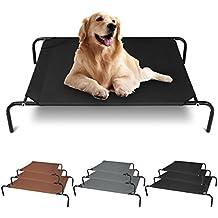 Hundebett HT2083gr1 Grau Hundesofa Hundeliege Bett Katze Hunde Haustierbett 90*60*20cm
