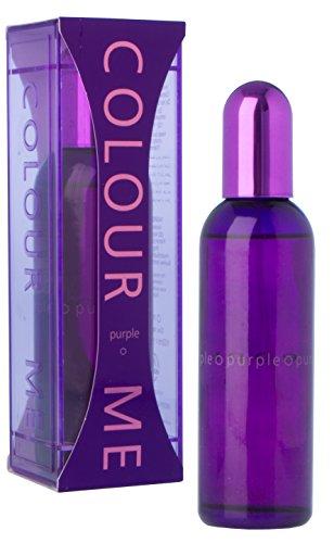 Couleur Me violet Eau de Parfum pour Femme en flacon Vaporisateur 100 ml