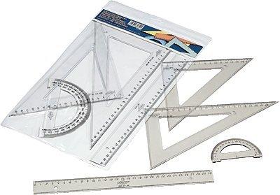 Faibo-806-Estuche-con-regla-escuadra-cartabn-y-semicrculo-30-cm