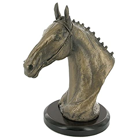 HUNTER CHASER COLD CAST BRONZE SCULPTURE BY DAVID