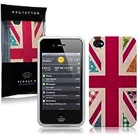 Creative Eleven TPU-Gelschutzhülle für iPhone 4/ 4S im Cool Britannia-Design