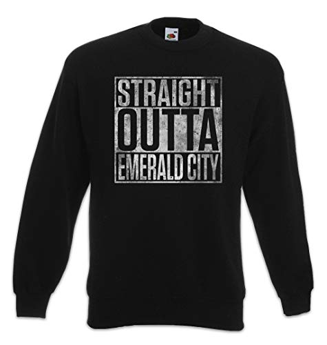 Urban Backwoods Straight Outta Emerald City Sweatshirt Pullover Größen S – 3XL