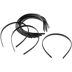 De manga larga para mujer Tinksky ropa de descanso para niñas para sofá o cama de pelo de accesorios para evitar rozaduras de pulsera de plástico cintas elásticas para practicar y brillante para Headwears (cartucho de tinta negra) bombillas de cabina de 12
