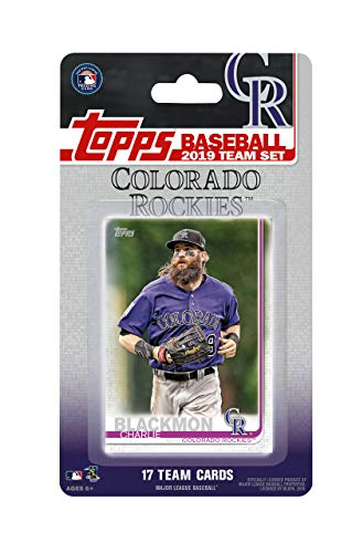 Colorado Rockies 2019 Topps Factory Sealed Special Edition 17 Karten Team Set mit Nolan Arenado und Trevor Story Plus