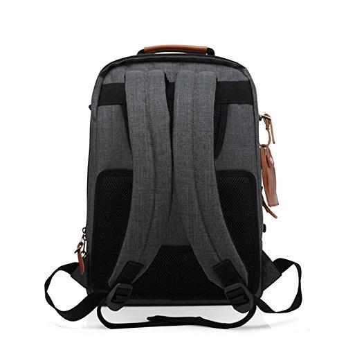 Z&N Kreative Mode Umhängetasche Freizeittasche große Kapazität Reiserucksack Outdoor Radfahren Laufen Wandern Reisen Klettern gray