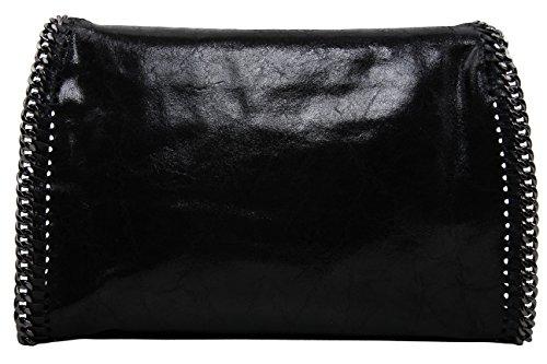 Slingbag Düsseldorf, Borsa a tracolla donna grigio Grau xl, Grau (grigio) - Katharina XL grau nero