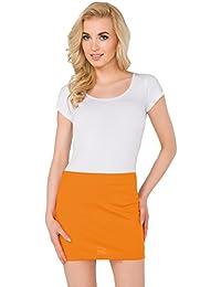 622f07bf1a7 FUTURO FASHION Womens Pencil Mini Skirt Stretchy Summer Elasticated Bodycon Plus  Sizes 8-22 PA11