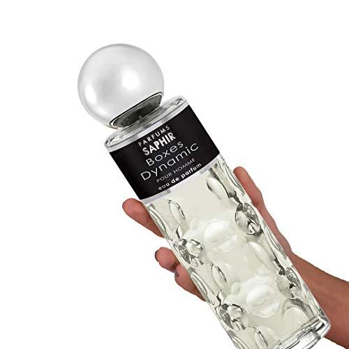 Saphir Parfums Boxes Dynamic XXL Agua de Perfume para Hombre (1 x 400 ml.)
