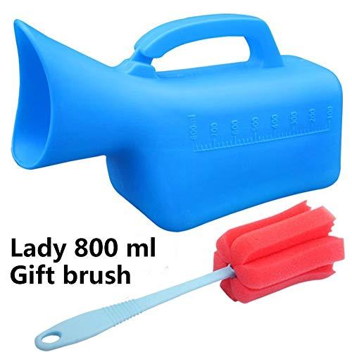 QIANGGAO Männer 2000ML Tragbare Potty Pee Flasche für Krankenhaus Camping Auto Reise Toilette Urinal, Wiederverwendbare tragbare männliche Urinal Eine Vielzahl von Modellen für Sie zu wählen,2