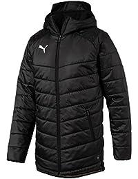 Puma Liga Sideline Bench Jacket, Hombre, Black/White, S
