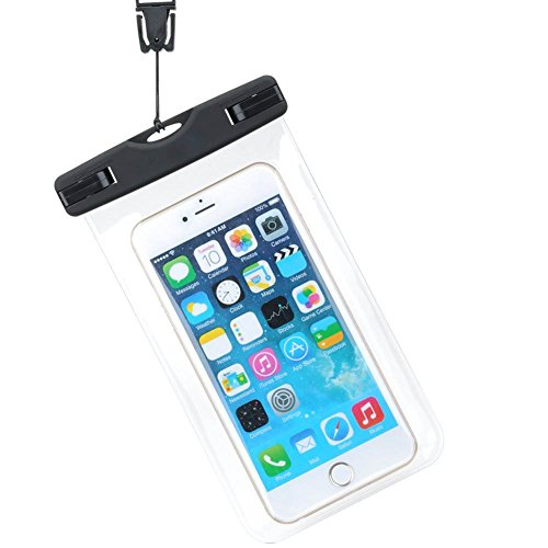 Wicemoon Wasserdichte Handytasche, Handy Wasserdichte Hülle Beutel Tasche Handyhülle, Handyschutz Cover für iPhone X 7/6/6s/6splus Samsung Huawei - Handy Wasserdichte Iphone Cover 6