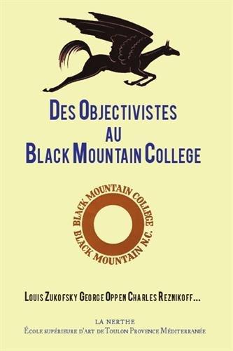 Des objectivistes au Black Mountain College