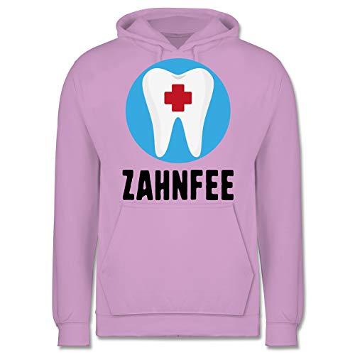 Fee Kostüm Zahn Mann - Shirtracer Karneval & Fasching - Zahnfee Zahn mit Kreuz - M - Lavendel - JH001 - Herren Hoodie