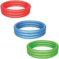 Bestway Splash and Play 3 Ring Pool, Multi Color
