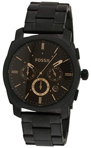 Fossil Machine Chronograph Analog Black Dial Men's Watch - FS4682