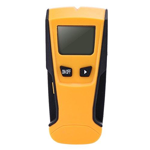 Tookie Digital Multifunktions-Balkenfinder Wand Scanner, aus Metall, Kabel- und Finder/Detektor mit Hintergrundbeleuchtung Display und Automatische Ausschaltfunktion, Gelb, Free Size