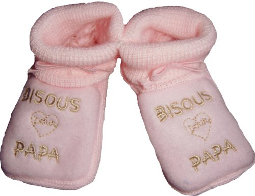 CHAUSSONS BEBE BRODES \