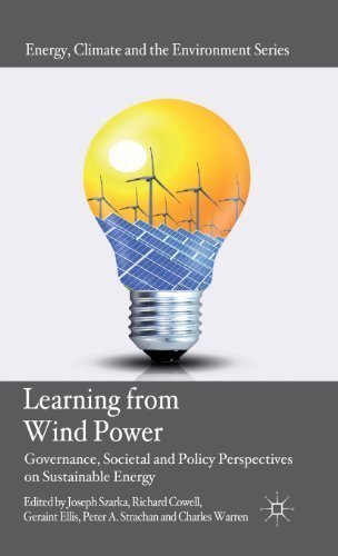 Learning from Wind Power: Governance, Societal and Policy Perspectives on Sustainable Energy (Energy, Climate and the Environment) by Palgrave Macmillan (2012-07-03)