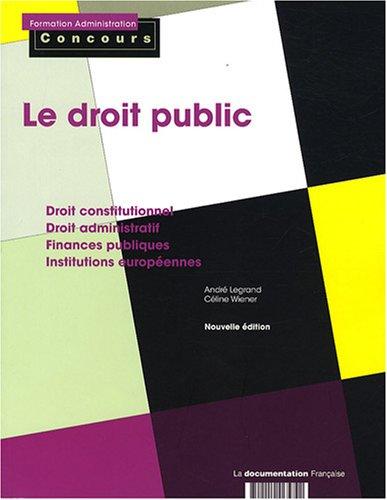 Le droit public : Catégories A et B