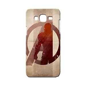 BLUEDIO Designer 3D Printed Back case cover for Samsung Galaxy E7 - G3443