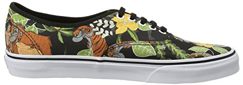 Vans Authentic vee33b2, Unisex - Erwachsene Skateboard-Schuhe Schwarz (disney/the Jungle Book/black)