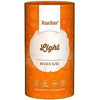 1 kg-Dose Xucker Light (Erythrit) | Erythrit von Xucker: Xucker Light | Ohne Gentechnik | Vegan | Allergen-frei | Zahnfreundlich | Kalorienfrei