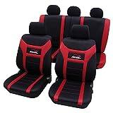 CD9623 Eco Class Super Speed rot schwarz 11 teilig Sitzbezug Schonbezüge