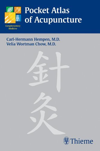 Pocket Atlas of Acupuncture (Complementary Medicine (Thieme Paperback)) by Carl-Hermann Hempen (2005) Paperback