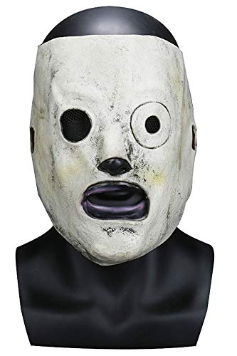 MingoTor Horror Maske Heavy Metal Band Halloween Latex Maske Karneval Cosplay