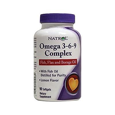 Natrol Omega 3-6-9 Complex (90 Softgels) by Natrol