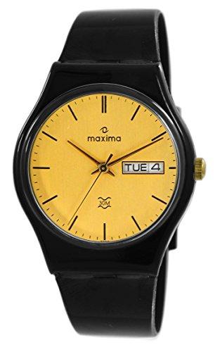 Maxima Aqua Day-Date Gold Dial Men -02203PPGW image