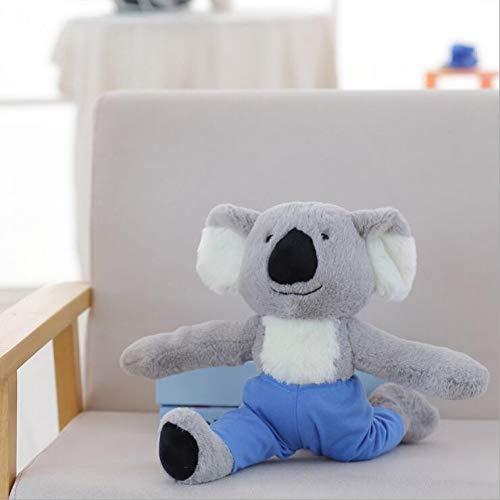 MYMAOR Lovely Yoga Monkey Koala Plush Toy Peluche Animal Modelado Plush Creative Gift para